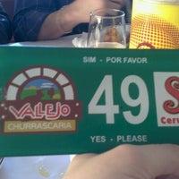 Photo taken at Vallejo Churrascaria by Julye S. on 11/18/2012