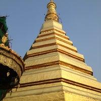 Photo taken at Wat Prathat Cho Hae by Nick B. on 3/17/2013