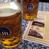Photo taken at Hofbräuhaus by Hakan S. on 3/23/2014