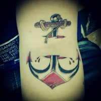 Photo taken at Nando Tattoo by Gustavo S. on 3/5/2013