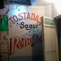 Photo taken at Tostadas Sagui by ✌ Laura B. on 7/3/2013