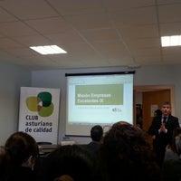 Photo taken at Club asturiano de calidad by Olga G. on 2/27/2014