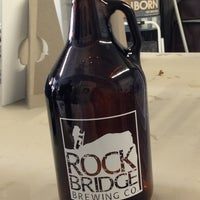 Photo taken at Rock Bridge Brewing Co. by Hillary S. on 4/13/2013