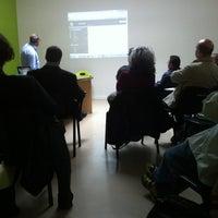 Photo taken at Impact Hub Roma by Flavio D. on 5/21/2013
