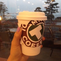 Photo taken at TOM N TOMS COFFEE by Nyusha I. on 3/16/2016