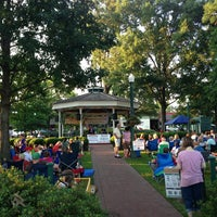 Photo taken at Collierville Town Square Park by Dallas on 6/14/2013
