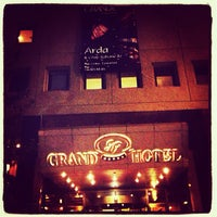 Photo taken at Grand Hotel Gaziantep by Arda Adil Ö. on 6/29/2013