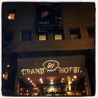 Photo taken at Grand Hotel Gaziantep by Arda Adil Ö. on 3/1/2013