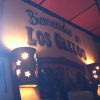 Photo taken at Los Gallos Authentic Mexican Restaurant and Sports Cantina by Stephen J. on 7/13/2013