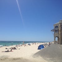 Photo taken at Cottesloe Beach by İnci G. on 2/7/2013