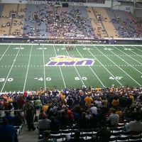 Photo taken at UNI-Dome by Kyl G. on 11/16/2012