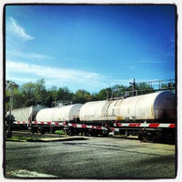 Photo taken at Amtrak - Cary Station (CYN) by Allie M. on 4/13/2013