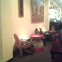 Photo taken at Ras Dashen Ethiopian Restaurant by Rodrigo B. on 12/9/2012