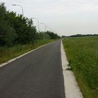 Photo taken at weggetje langs europalaan by Ilse W. on 7/16/2013
