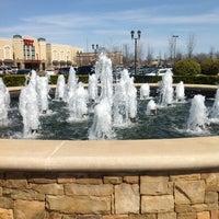 Photo taken at Fountain@Ashley Park by Cristina K. on 3/10/2013
