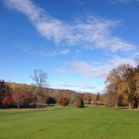 Photo taken at Francis Byrne Golf Course by Nicholas C. on 11/3/2013