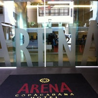 Foto tirada no(a) Arena Copacabana Hotel por Douglas V. em 1/15/2013