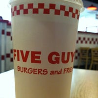 Photo taken at Five Guys by Anthony H. on 11/26/2012