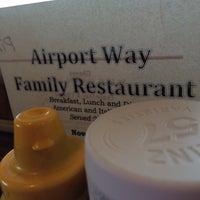 Photo taken at Airport Way Restaurant by Valinda . on 3/24/2014