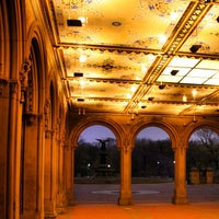 Photo taken at Bethesda Terrace by Māris R. on 1/18/2013
