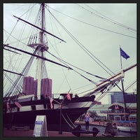 Photo taken at Historic Ships in Baltimore by Chef Huda on 7/9/2013