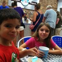 Photo taken at Just Chill Frozen Yogurt by Greg P. on 8/24/2013