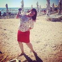 Photo taken at Plaja Savoy by Anca C. on 7/13/2014
