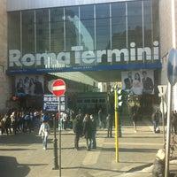 Photo taken at Roma Termini Railway Station (XRJ) by Anca C. on 3/4/2013