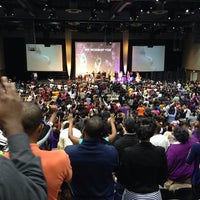 Photo taken at New Life Covenant Church @ UIC Forum by Truth D. on 10/6/2013