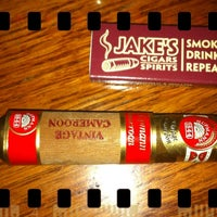 Photo taken at Jake's Cigars And Spirits by jp f. on 1/24/2013