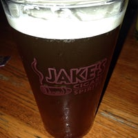 Photo taken at Jake's Cigars And Spirits by jp f. on 10/4/2013