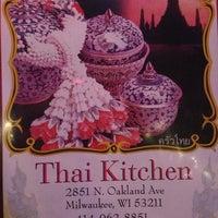 photo taken at thai kitchen by colin k on 9242014 - Thai Kitchen Milwaukee