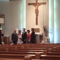 Photo taken at Korean Martyr's Catholic Church by Johnny P. on 11/16/2013