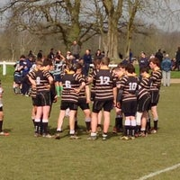 Photo taken at Reading Abbey RFC by Ian B. on 3/30/2014