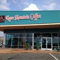 Photo taken at Kona Mountain Coffee by Jeff P. on 11/18/2012