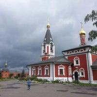 Photo taken at Детская площадка возле храма by Марина М. on 7/22/2013