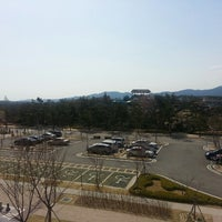 Photo taken at Hanwha Resorts Seorak by Katherine S. on 4/19/2013
