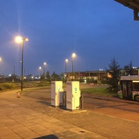 Photo taken at Monks Cross Park & Ride by Chris K. on 9/26/2017