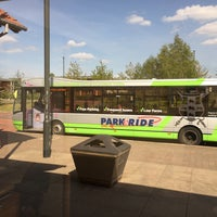 Photo taken at Monks Cross Park & Ride by Chris K. on 5/10/2017