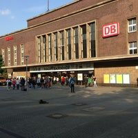 Photo taken at Düsseldorf Hauptbahnhof by Әлібек Ә. on 5/27/2013