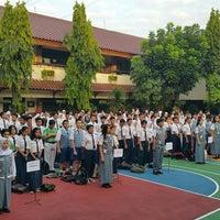 Photo taken at SMAN 61 Jakarta by Oyi K. on 7/7/2017