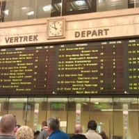 Photo taken at Brussels Central Station by Dasha T. on 5/1/2013