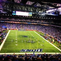 Photo taken at Ford Field by Rob G. on 12/23/2012
