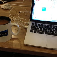 Photo taken at Workbar by Michael R. on 9/26/2013