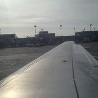 Photo taken at Gate D2 by Roy G. on 3/3/2013