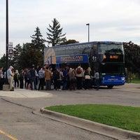 Photo taken at Megabus Stop by Roy G. on 9/28/2014