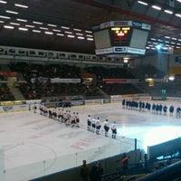 Photo taken at Zimní stadion Luďka Čajky by Silvie K. on 3/5/2013
