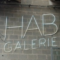 Photo taken at HAB Galerie by Delphine on 7/26/2013