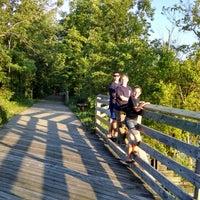 Photo taken at Middleville Paul Henry Trailhead by Joanne P. on 6/7/2014