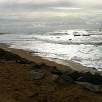Photo taken at Plage de Sauveterre by Pitt Aka the Python A. on 11/2/2013